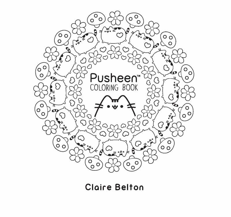 Pusheen Coloring Pictures
