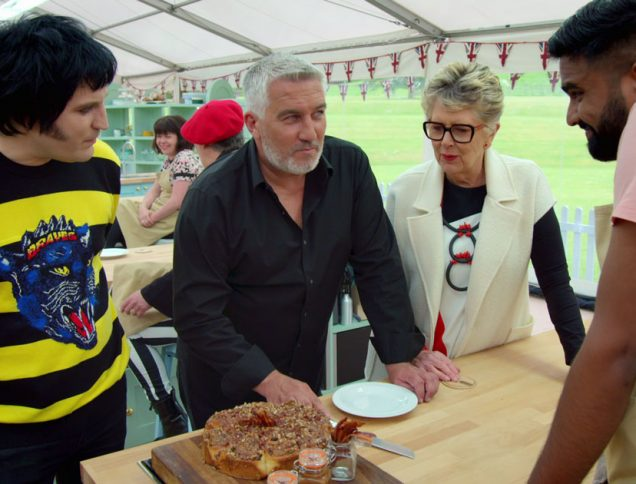 Photo from The Great British Baking Show. Photo credit: Netflix